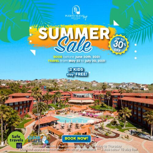 Summer Sale Puerto Nuevo